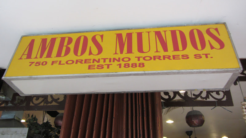 Ambos Mundos Restaurant