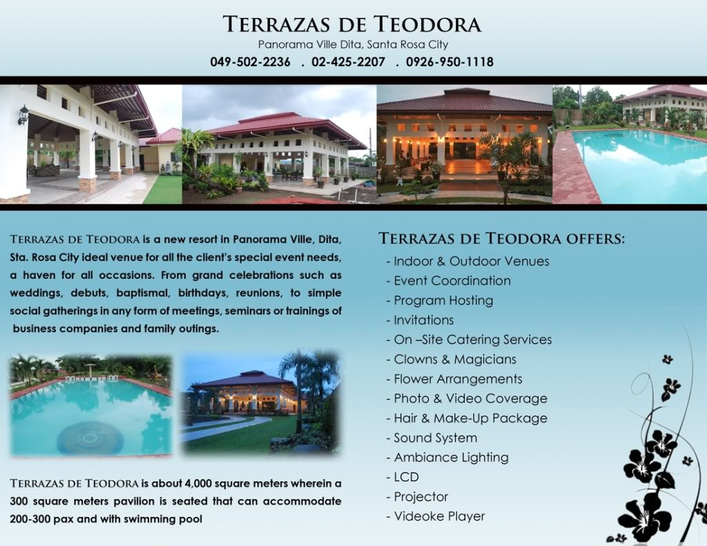 Terrazas de Teodora Pavilion and Resort