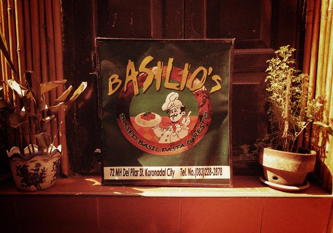 Basilio's Based-Basil Pasta & Resto