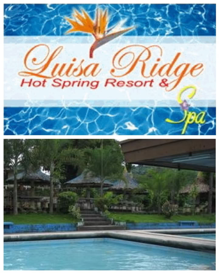 Luisa Ridge Hot Spring Resort Spa