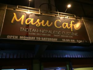 Masu Cafe INDIAN-NEPALESE CUISINE