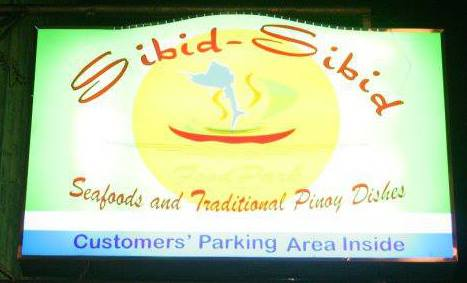 Sibid-Sibid Food Park
