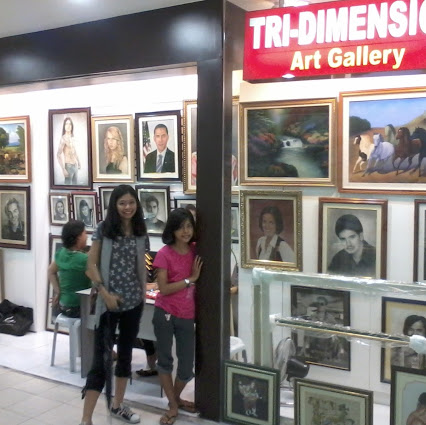 Tri-Dimension Art Gallery