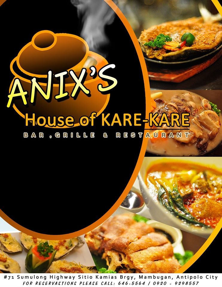 Anix House Of Kare-Kare