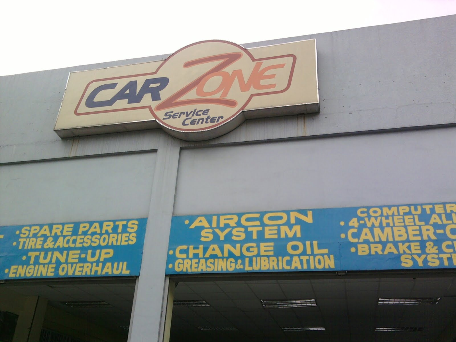 Car Zone Service Center