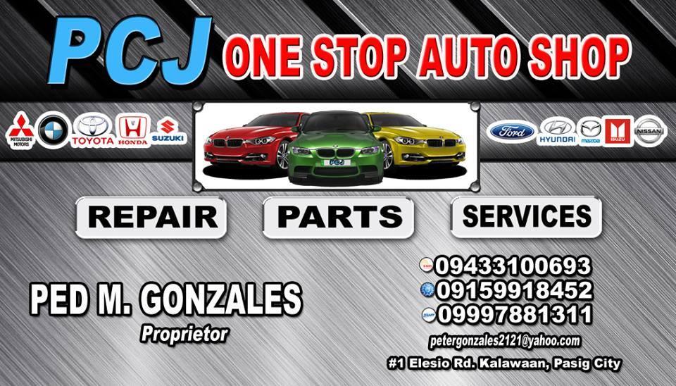 PCJ One Stop Auto Shop