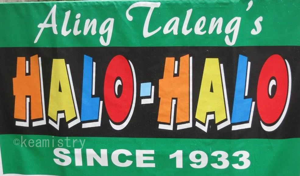 Aling Taleng's Halo-Halo (Since 1933)