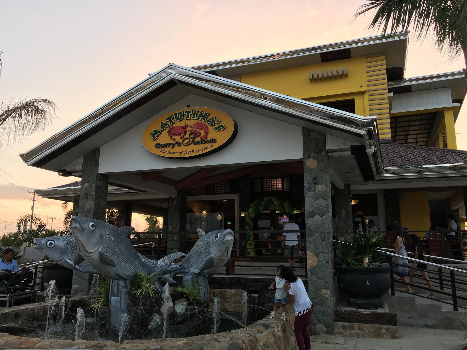 Matutina's Gerry's Seafood House
