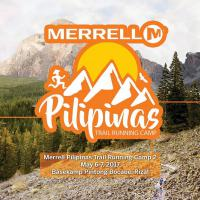 Merrell Pilipinas Trail Running Camp On May 6 to 7, 2017