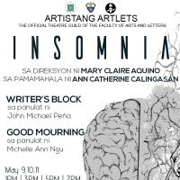 """Insomnia"", The Latest Twin-Bill Production of UST's Artistang Artlets"
