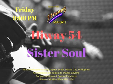 SISTER SOUL / HIWAY 54 AT STRUMM'S MAKATI