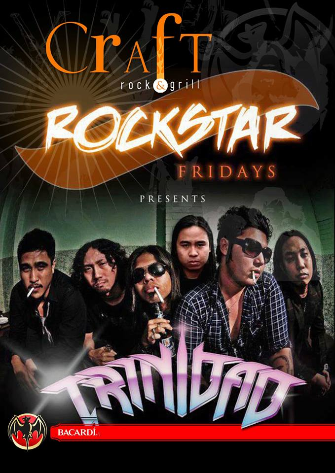 "GLAM ROCK FRIDAY ""TRINIDAD"" AT CRAFT ROCK & GRILL"