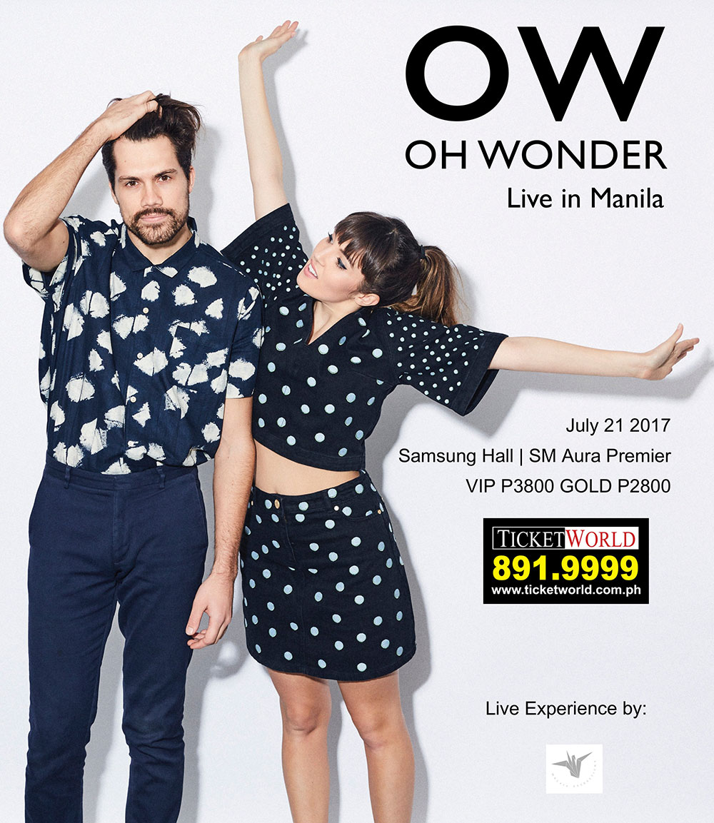 OH WONDER - Live in Manila