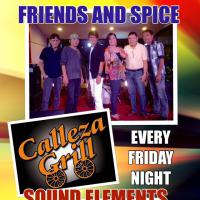 FRIENDS AND SPICE & SOUND ELEMENTS AT CALLEZA GRILL ANTIPOLO