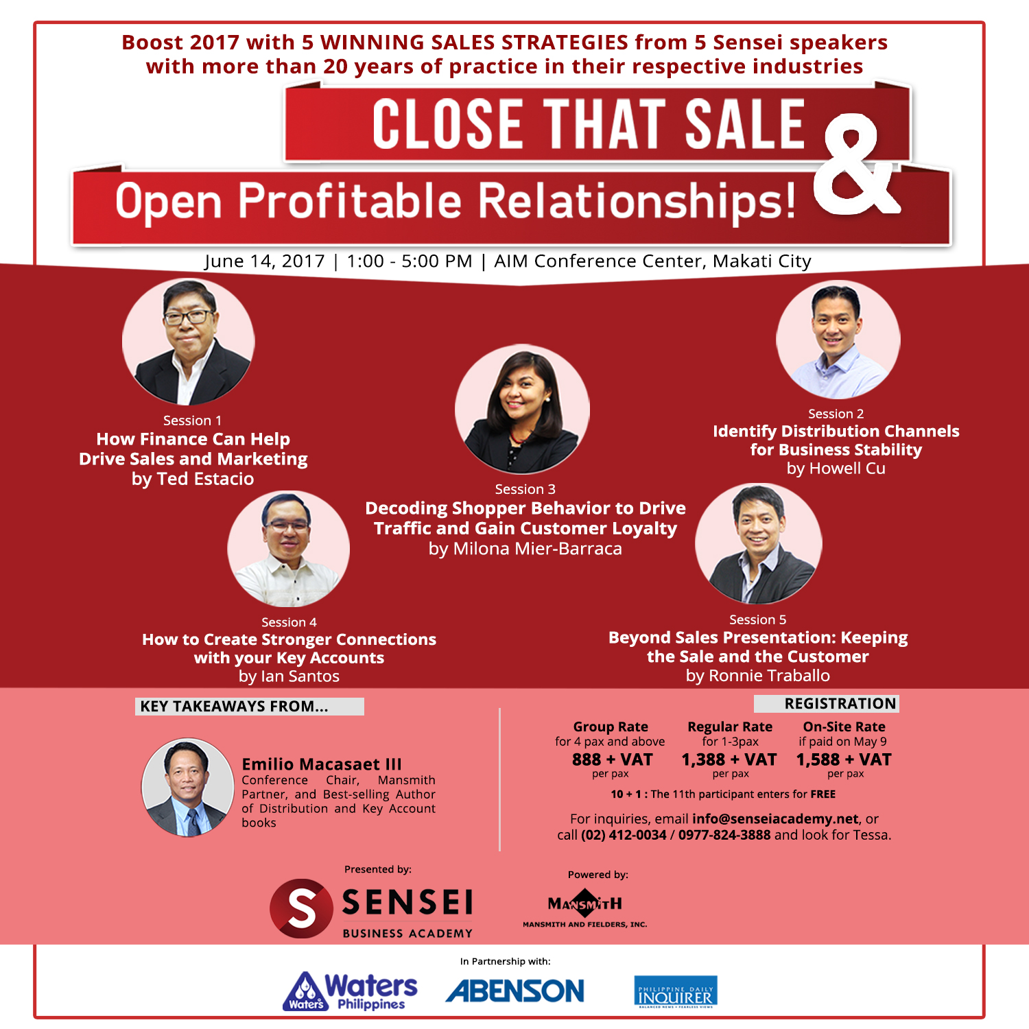 Close that Sale and Open Profitable Relationships
