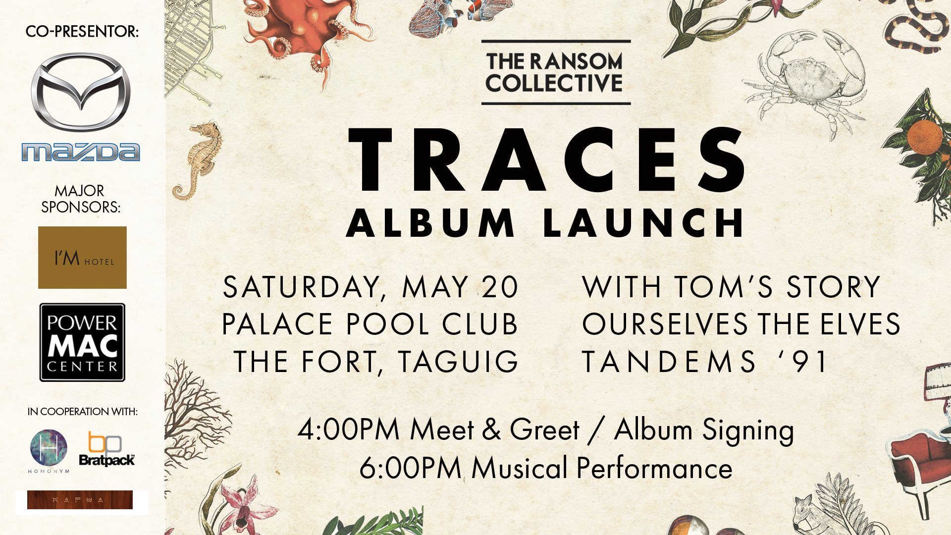 The Ransom Collective: Traces Album Launch