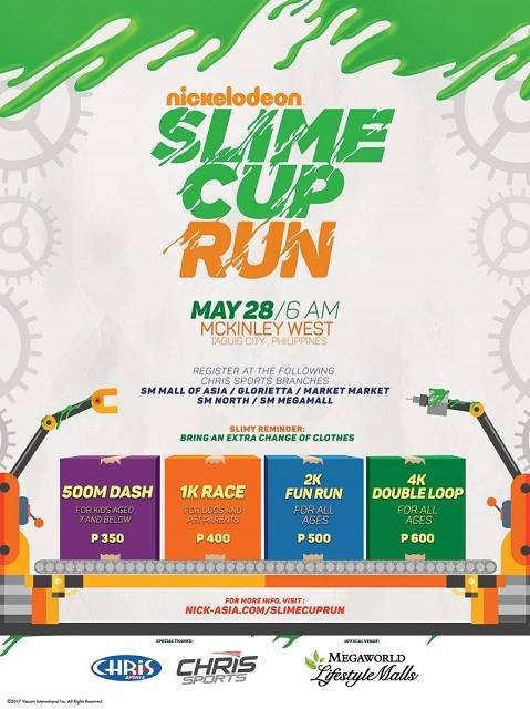 Nickelodeon Slime Cup Run 2017