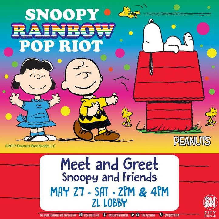 Meet and Greet Snoopy and Friends