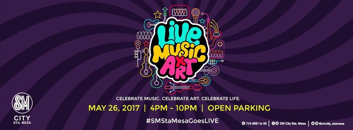 LIVE! Music x Art at SM City Sta. Mesa
