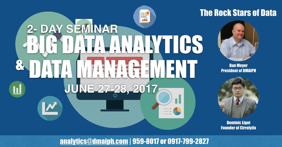 Big Data Analytics and Data Management