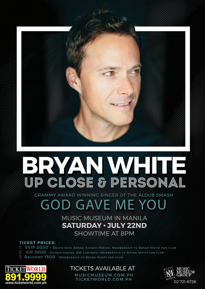 BRYAN WHITE Up Close & Personal