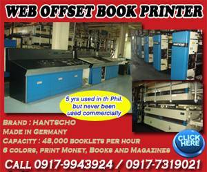 Web Offset Book Printer