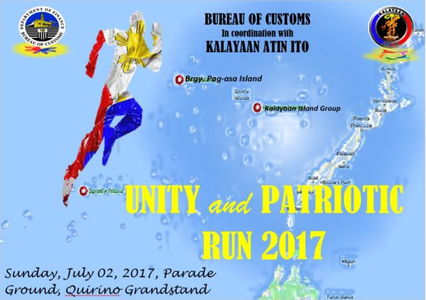 Unity And Patriotic Run 2017