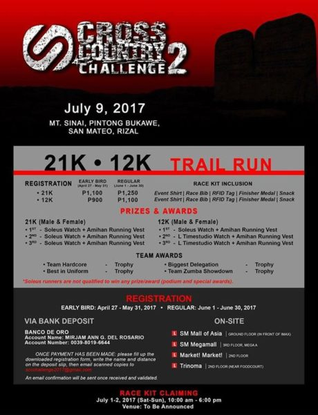 Soleus Cross Country Challenge 2 2017