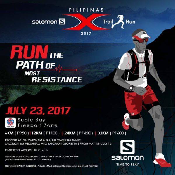 Salomon X-Trail Pilipinas 2017