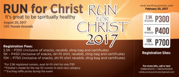 RUN for Christ 2017