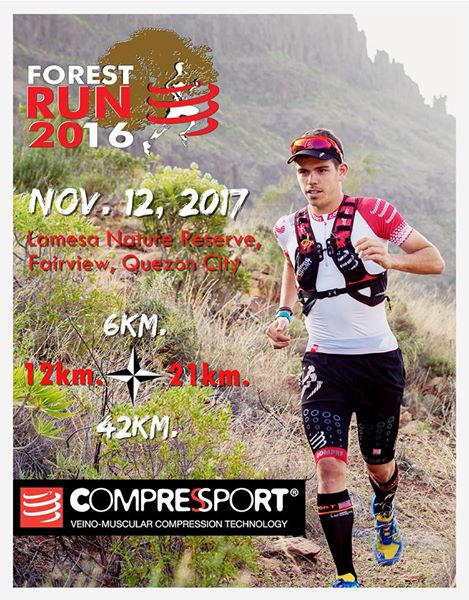 Compressport Forest Run 2017