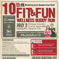 Robinson's Fit & Fun Wellness Buddy Run 2017
