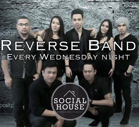 REVERSE BAND AT SOCIAL HOUSE