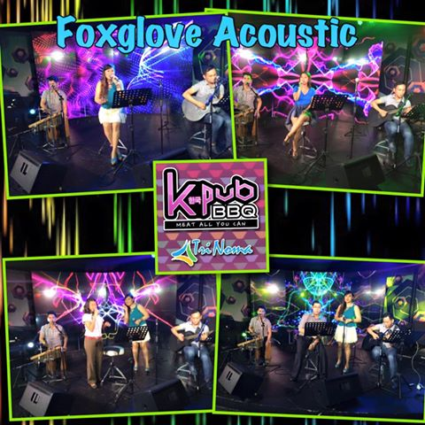 FOXGLOVE ACOUSTIC AT KPUB BBQ TRINOMA