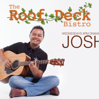 JOSH AT THE ROOF DECK BISTRO