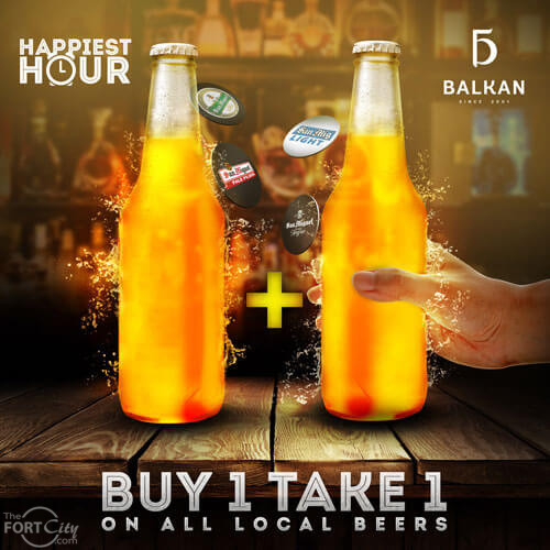 Happiest Hour at Balkan MNL
