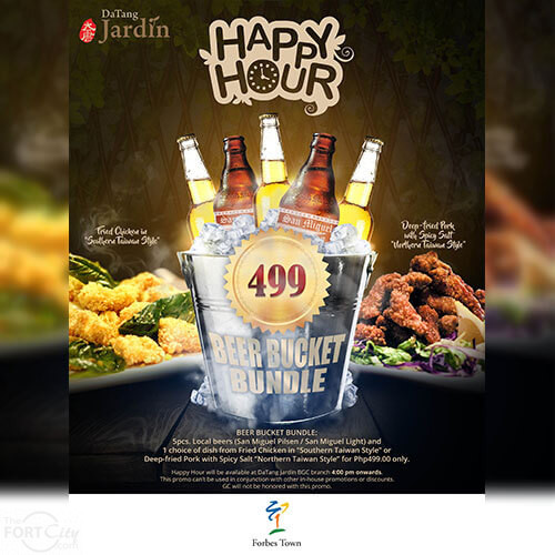Happy Hour at DaTang Jardin