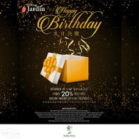 20% Birthday Discount at DaTang Jardin