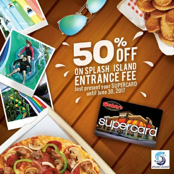 SPLASH ISLAND 50% Off With Shakeys Supercard