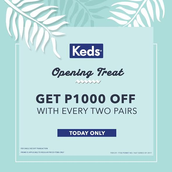 KEDS Opening Treat at SM Megamall