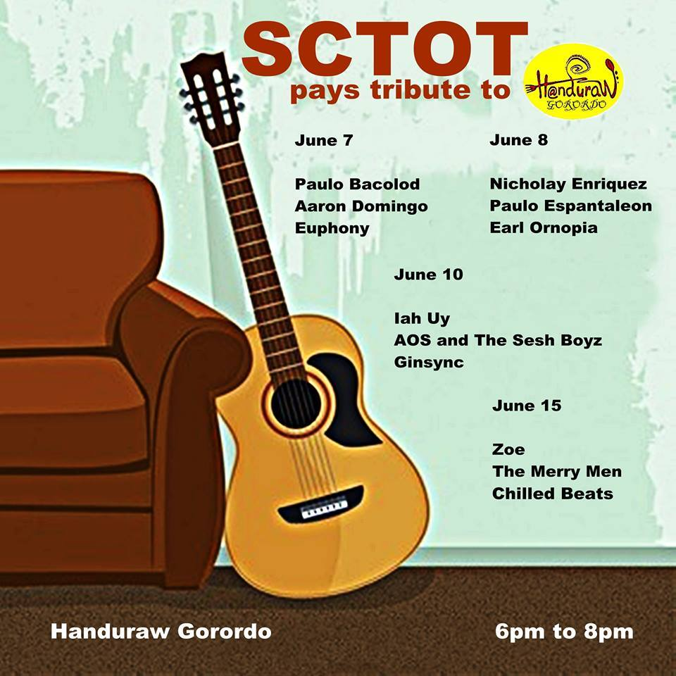 SCTOT PAYS TRIBUTE TO HANDURAW AT HANDURAW PIZZA GORORDO