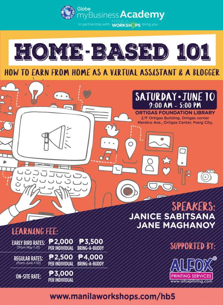 HOME BASE 101 AT ORTIGAS FOUNDATION LIBRARY