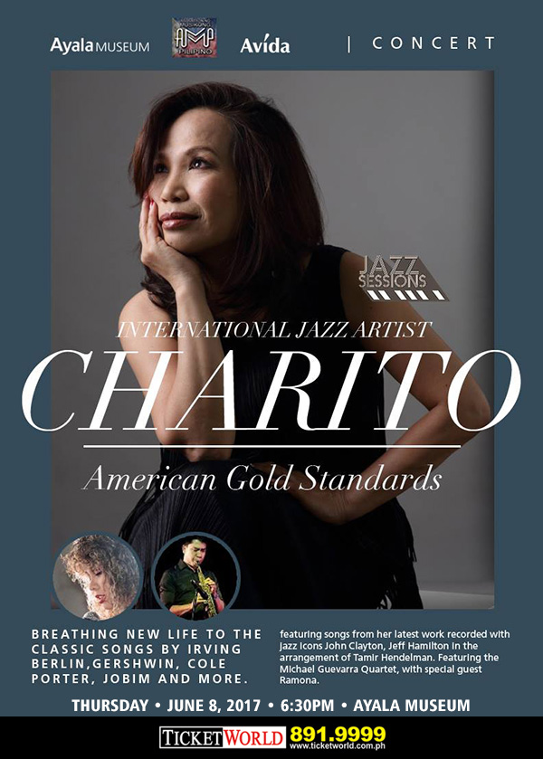 Jazz Sessions CHARITO: AMERICAN GOLD STANDARDS