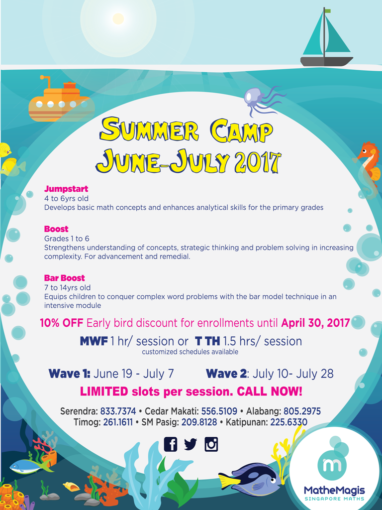 MatheMagis Summer Camp Wave 1