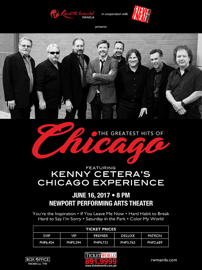 Greatest Hits of CHICAGO feat. Kenny Cetera's Chicago Experience