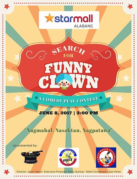 Search for Funny Clown: A Comedy Play Contest