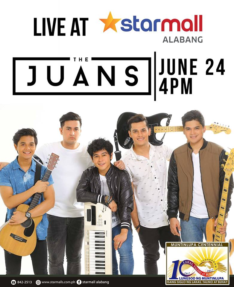 THE JUANS LIVE AT STARMALL ALABANG