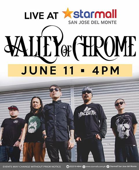 VALLEY OF CHROME LIVE AT STARMALL SAN JOSE DEL MONTE