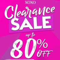 XOXO Clearance Sale at Trinoma 80% Off