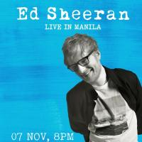 Ed Sheeran Live in Manila on November 7